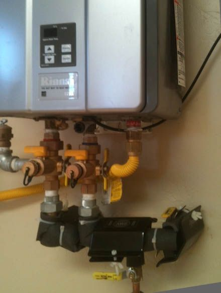 Tankless water Heater Installations