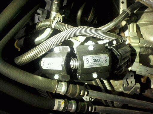 3 GMX 400's installed on a Ford 6.8liter gas engine