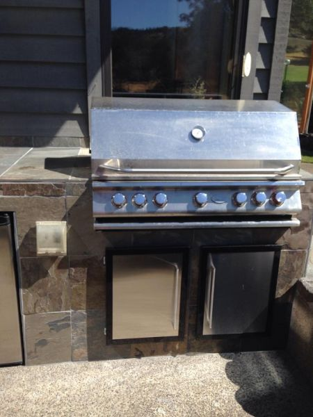 GMX Model 400s on barbecues fed with propane or natural gas. Saves 10-20% on the fuel!