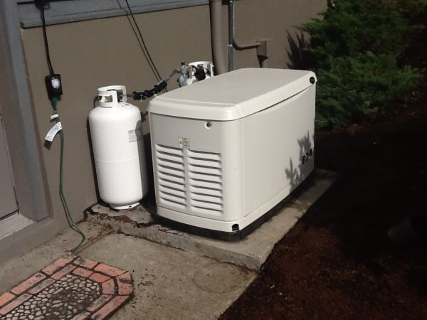 GMX Model 400s on 17KW Propane Generator
