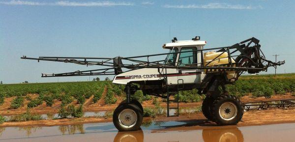 GMX units on spray rigs