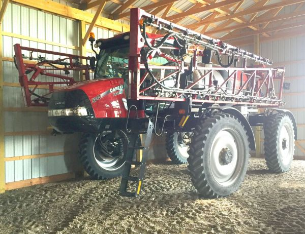 GMX Units Model 848s on spray rigs. The units help prevent scale from building up on the equipment.