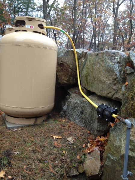 Installing Propane Gas Line From Tank To House Tural Designs